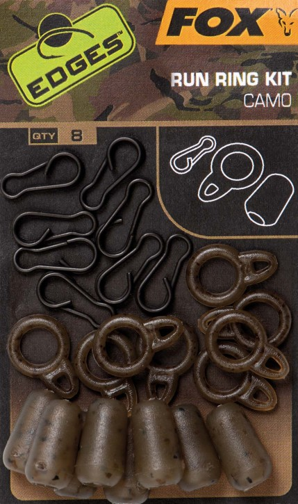 Fox Edges Camo Run Ring Kit