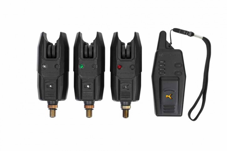 Korum KBI-R 3+1 Bite Alarm + Receiver Set