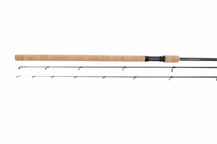 Korum Barbel Rod 2-teilig Quiver Twin Tip Barbenrute 12ft 1,5lb