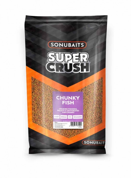 Sonubaits Groundbait Chunky Fish (2kg)