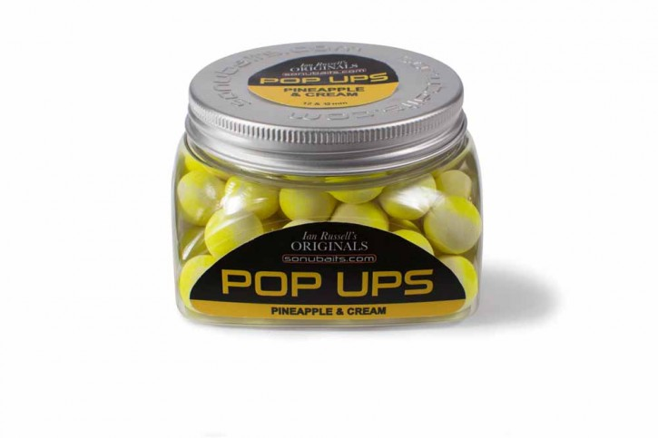 Sonubaits Ian Russell Barrel Pop Ups Pineapple & Cream