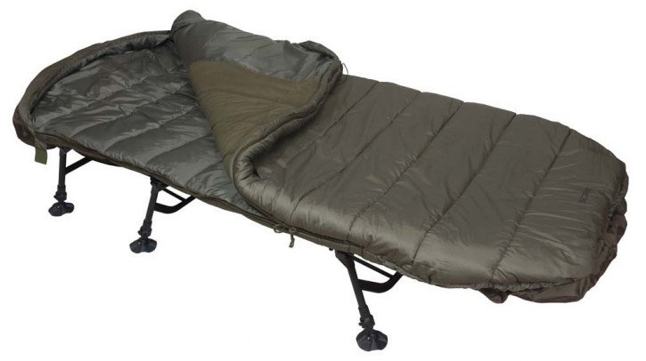 Sonik AXS Duralloy Levelbed & Sleeping Bag Combo