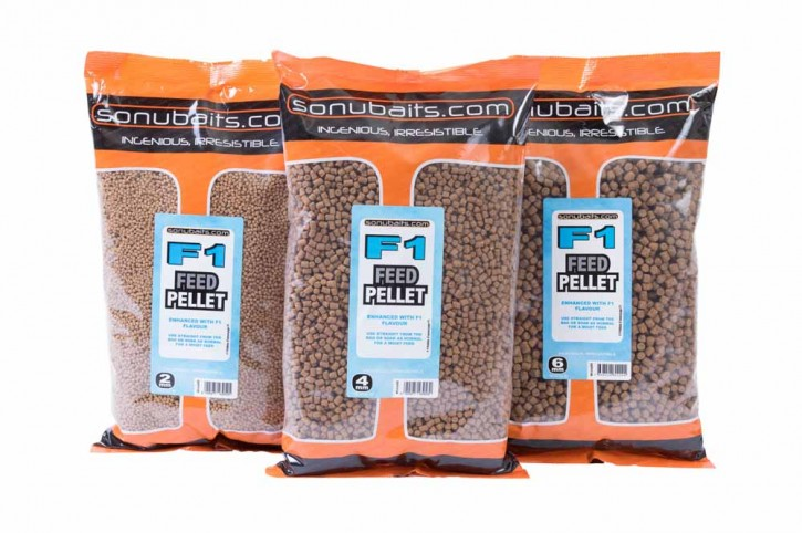 Sonubaits F1 Feed Pellets - 2mm