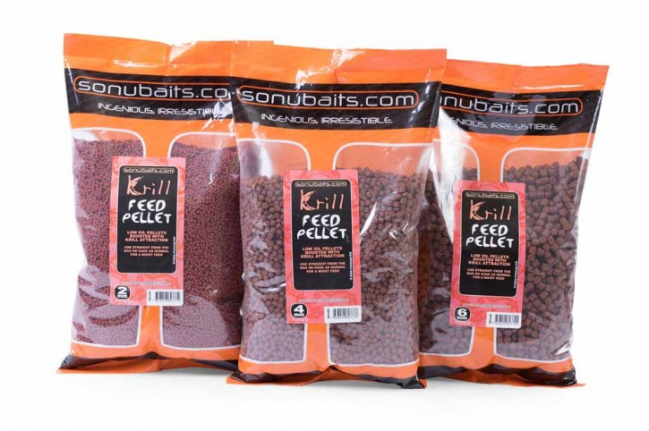 Sonubaits Krill Feed Pellets - 2mm