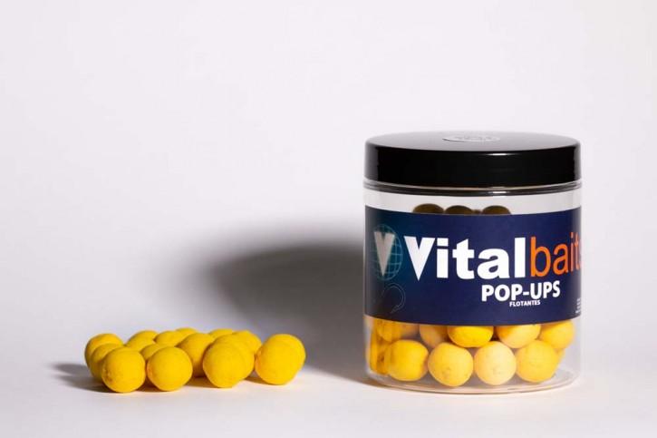 Vitalbaits Pop Ups Pina N-Butyric Acid 14 mm