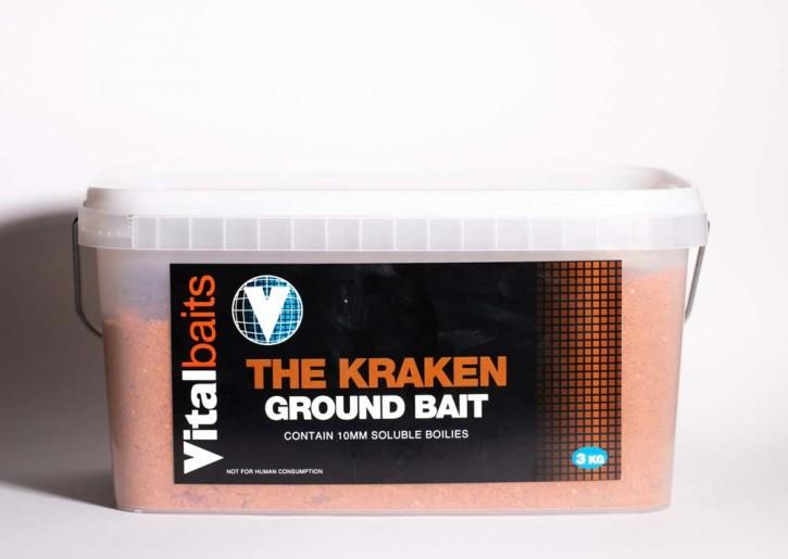 Vitalbaits Groundbait Nutty Crunch BUCKET  3kg