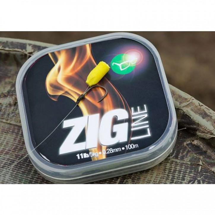 Korda Zig Line 0,25 mm/9 lb
