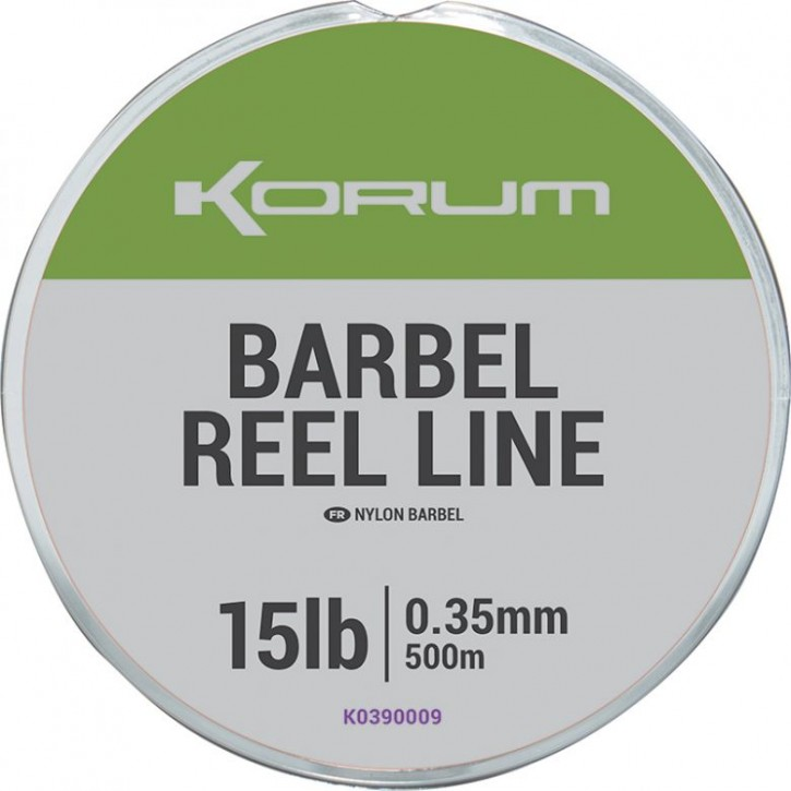 Korum Barbel Reel Line 500 m 15 lb 0,35 mm