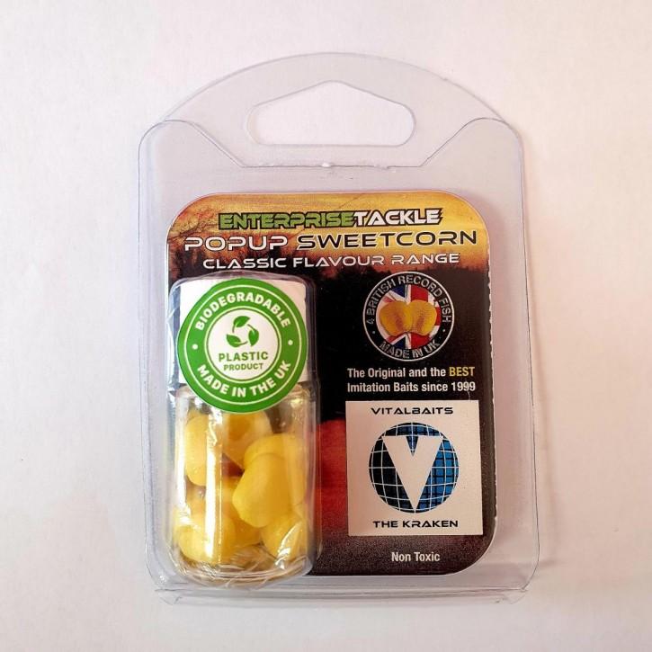 Enterprise Tackle PopUp Sweetcorn - The Kraken - Yellow