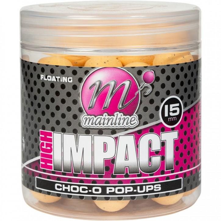 Mainline Baits High Impact Pop Ups 15 mm Choc-O