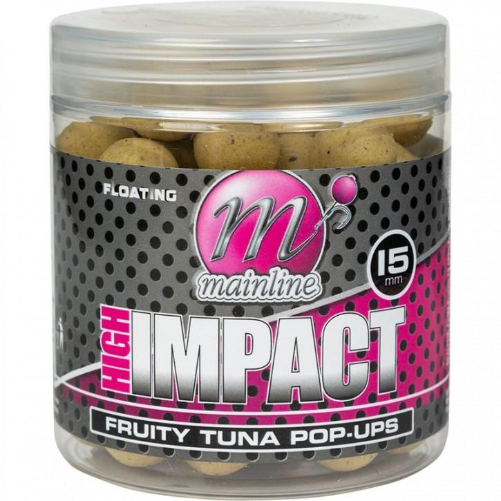 Mainline Baits High Impact Pop Ups 15 mm Fruity Tuna