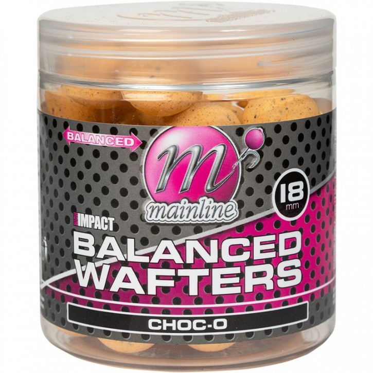 Mainline Baits High Impact Balanced Wafters 18 mm Choc-O