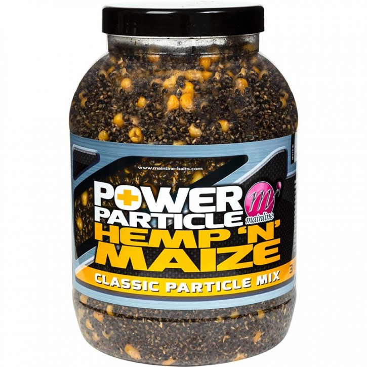 Mainline Baits Power Plus Particles Hemp `N` Maize 3 kg