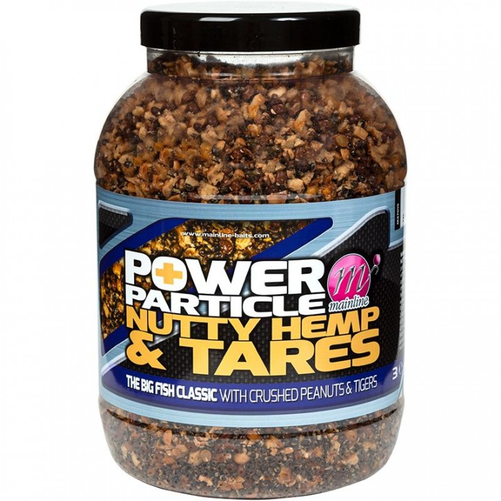 Mainline Baits Power Plus Particles Nutty Hemp & Tares 3 kg