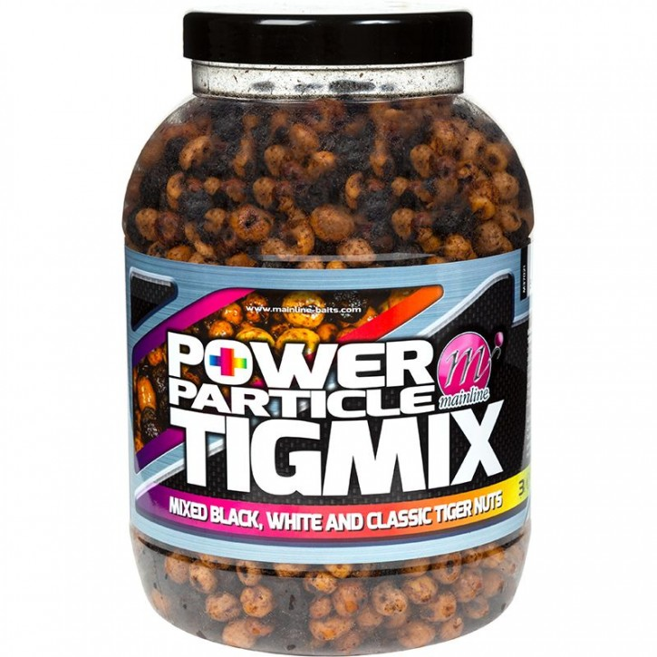 Mainline Baits Power Plus Particles TigMix 3 kg