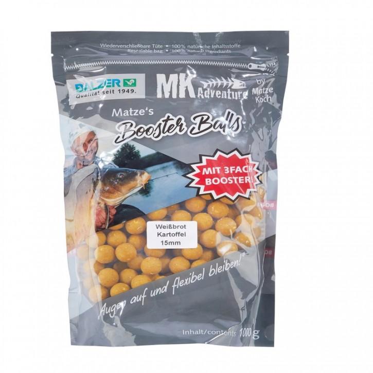 Balzer Matze Koch Matzes Booster Balls Weißbrot / Kartoffel 1 kg - 15 mm