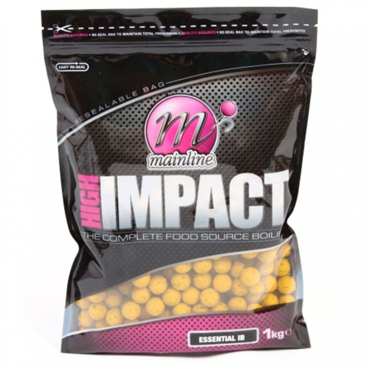 Mainline Baits High Impact Boilies 3 kg - 15 mm - Essential I.B.