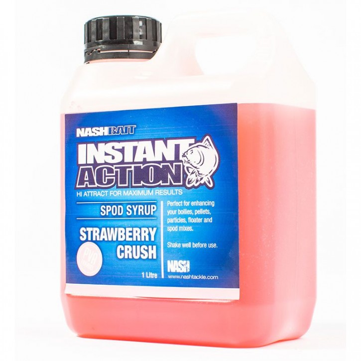 Nash Bait Instant Action Strawberry Crush Spod Syrup
