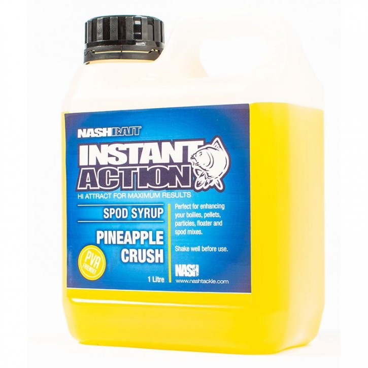 Nash Bait Instant Action Pineapple Crush Spod Syrup