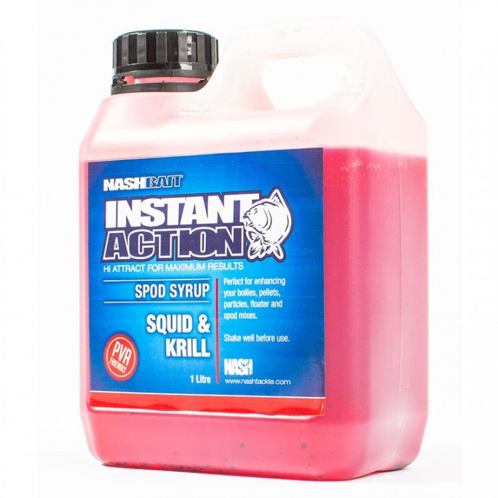 Nash Bait Instant Action Squid and Krill Spod Syrup