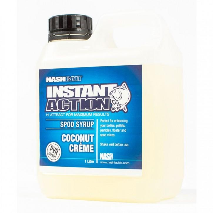 Nash Bait Instant Action Coconut Crème Spod Syrup