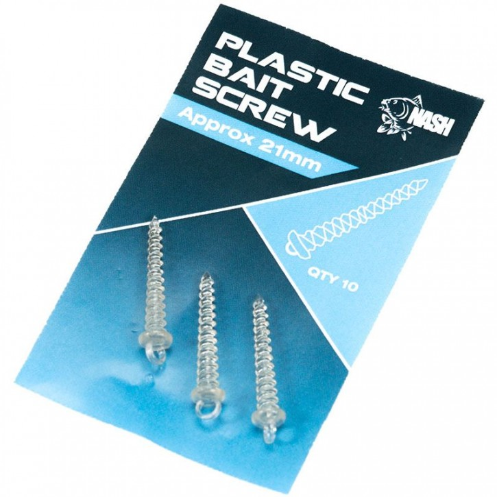 Nash Plastic Bait Screw 21 mm