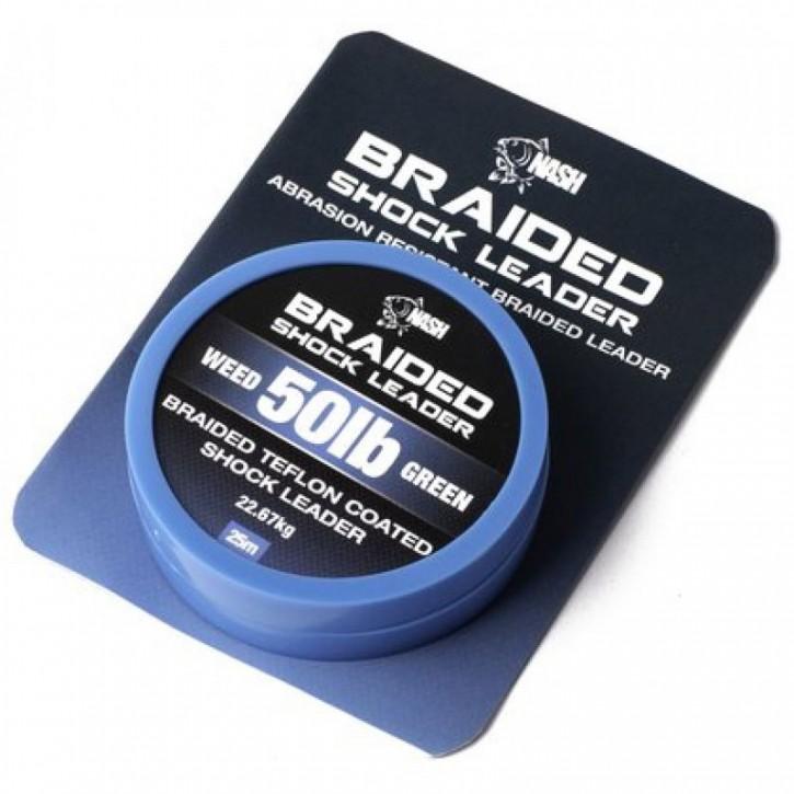 Nash Braided Shock Leader 25 m 50 lb