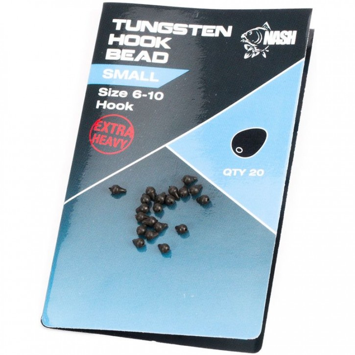 Nash Tungsten Hook Bead Small