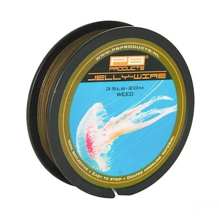 PB Products Jelly Wire 25lb 20m Weed Coated Braid