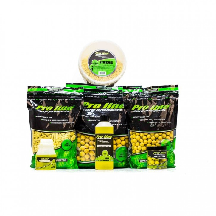 Pro Line Juicy Pineapple Boilies - 15mm - 1kg