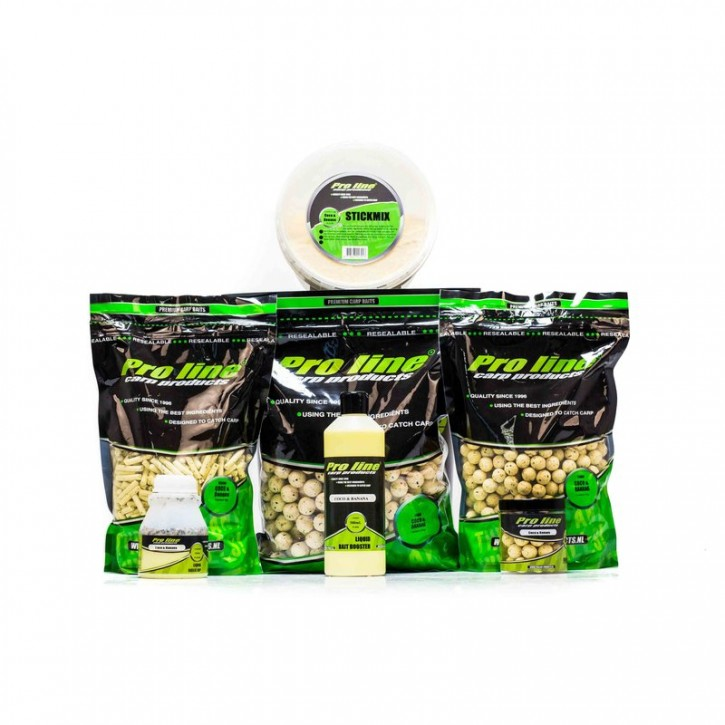 Pro Line Readymades Boilies - Coco & Banana  mm - 1 kg