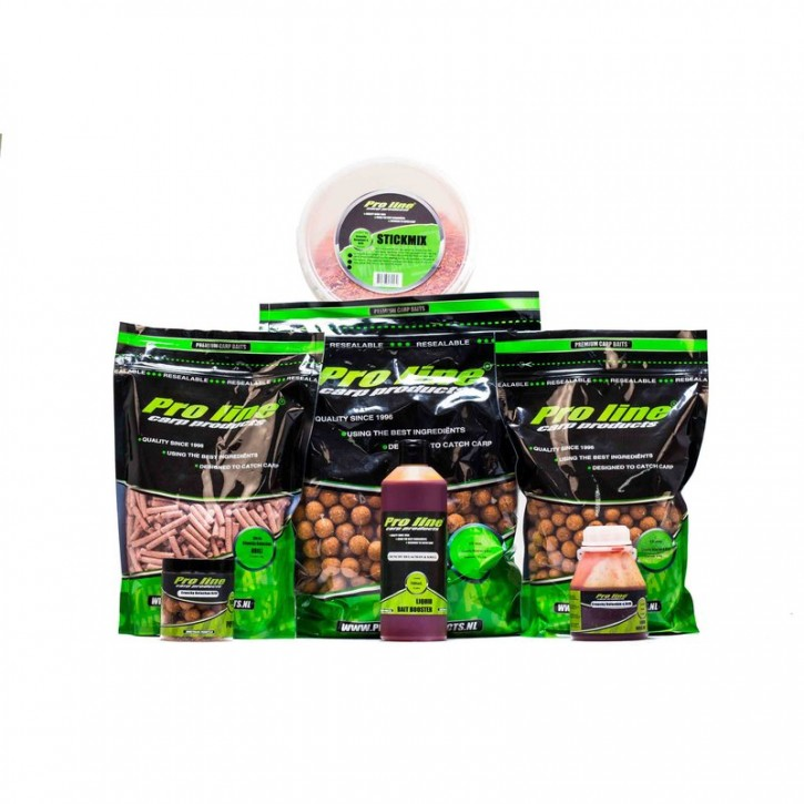 Pro Line Readymades Boilies - Crunchy Belachan & Krill 20 mm - 1 kg