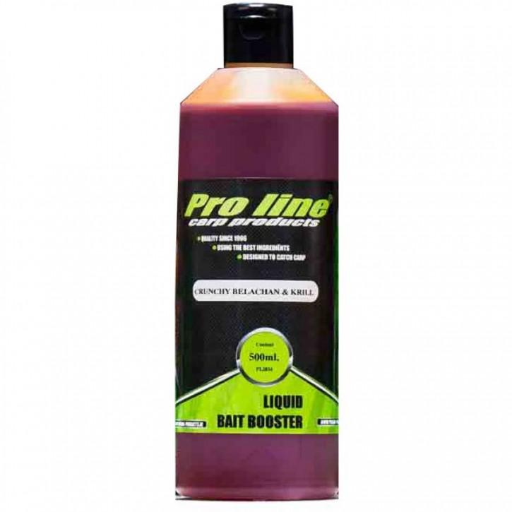 Pro Line Crunchy Belachan & Krill Liquid Bait Booster - 500 ml