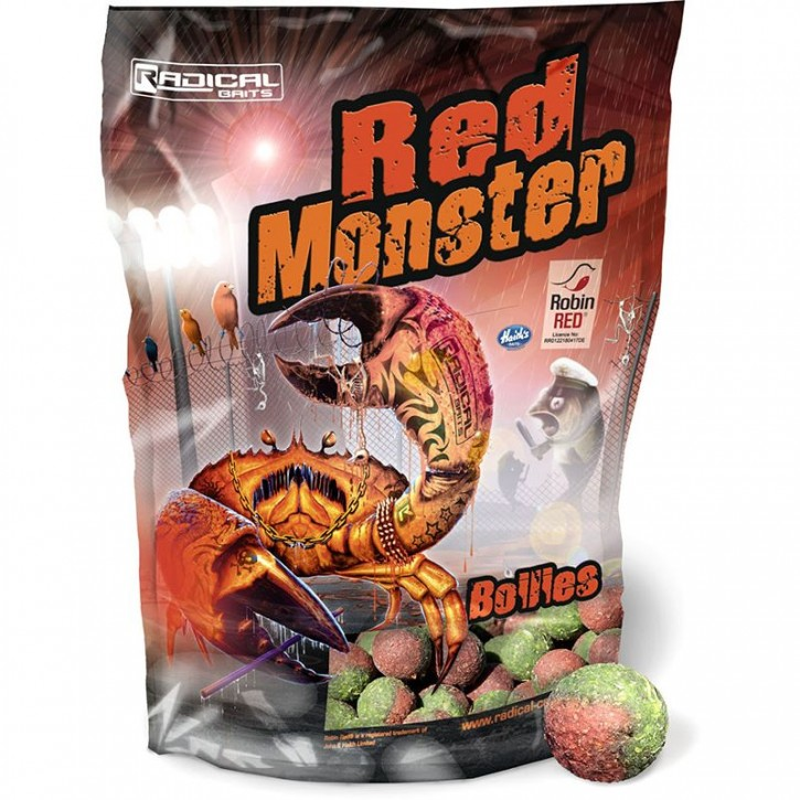 Quantum Radical Red Monster Boilie 1 kg 20 mm