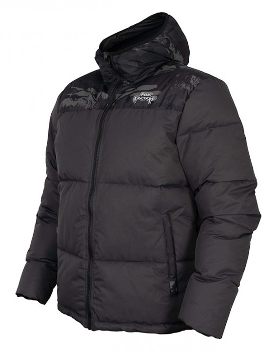 Fox Rage Camo Rip Stop Quilted Jacket - L
