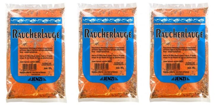 "JENZI Räucherlauge ""Das Original"" 3er Sparpack, 3x 700g Beutel"