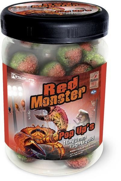 Quantum Radical Red Monster Pop Up