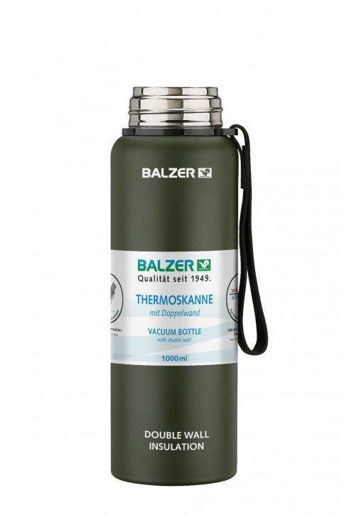 BALZER Thermoskanne mit Doppelwand 1000ml