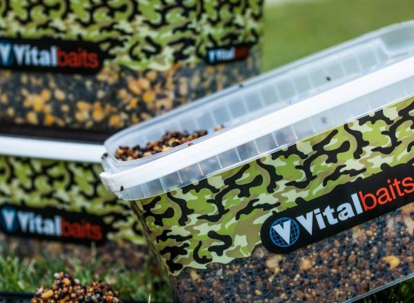 Vitalbaits Prepared Particles HEMP & MAIS 3kg