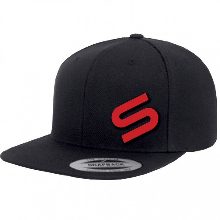 Sonik Black Snapback Icon Cap