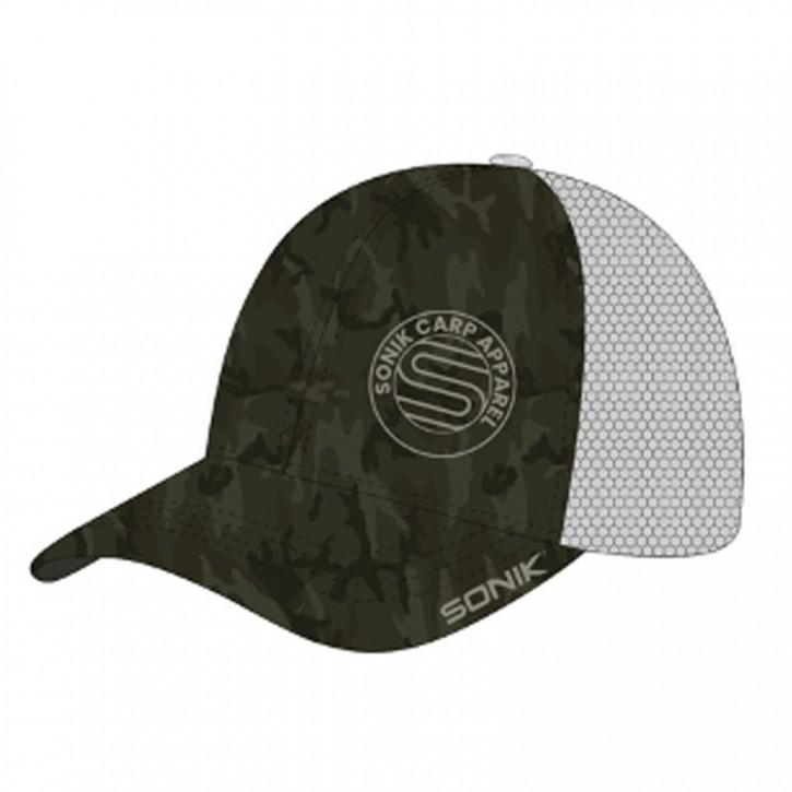 Sonik SK-TEK Camo Snapback Cap