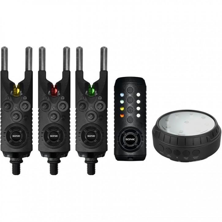Sonik Gizmo 3+1 Alarm + Bivvy Lamp