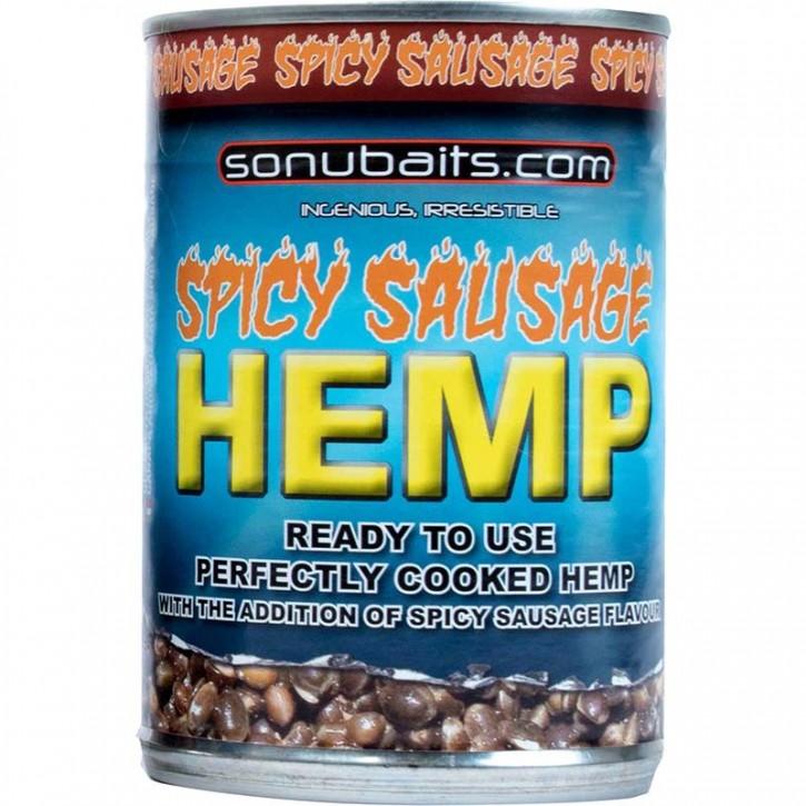 Sonubaits Hemp & Spicy Sausage 400 g