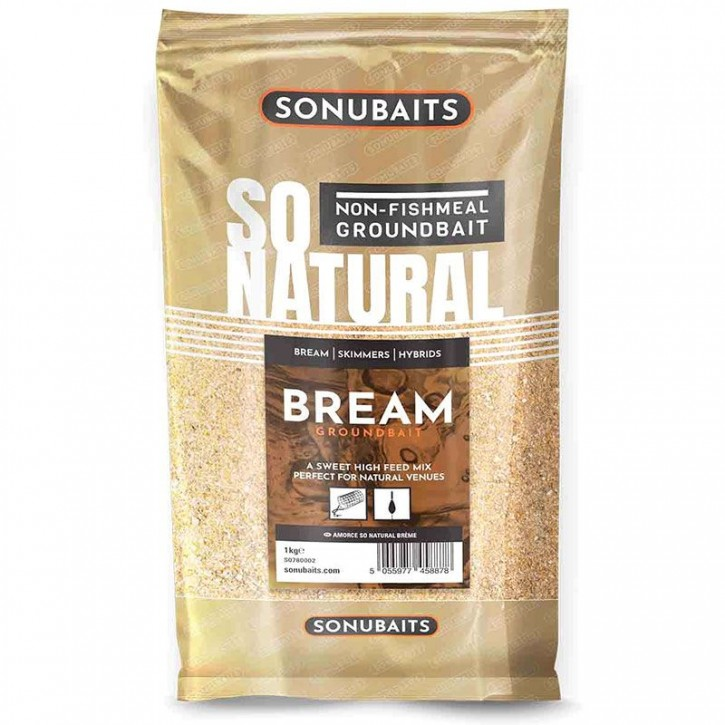 Sonubaits So Natural Bream Groundbait -  1 kg