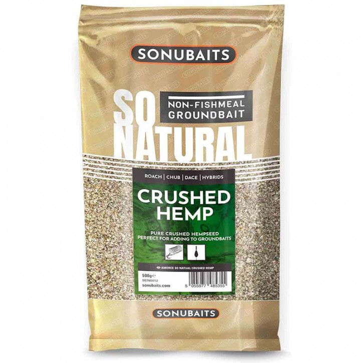 Sonubaits So Natural Crushed Hemp -  500 g