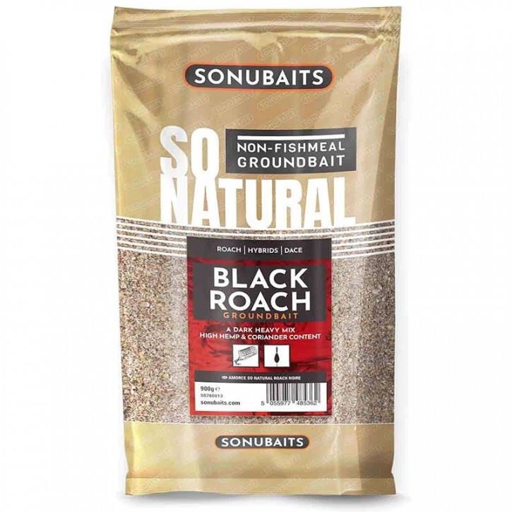 Sonubaits So Natural Black Roach -  900 g