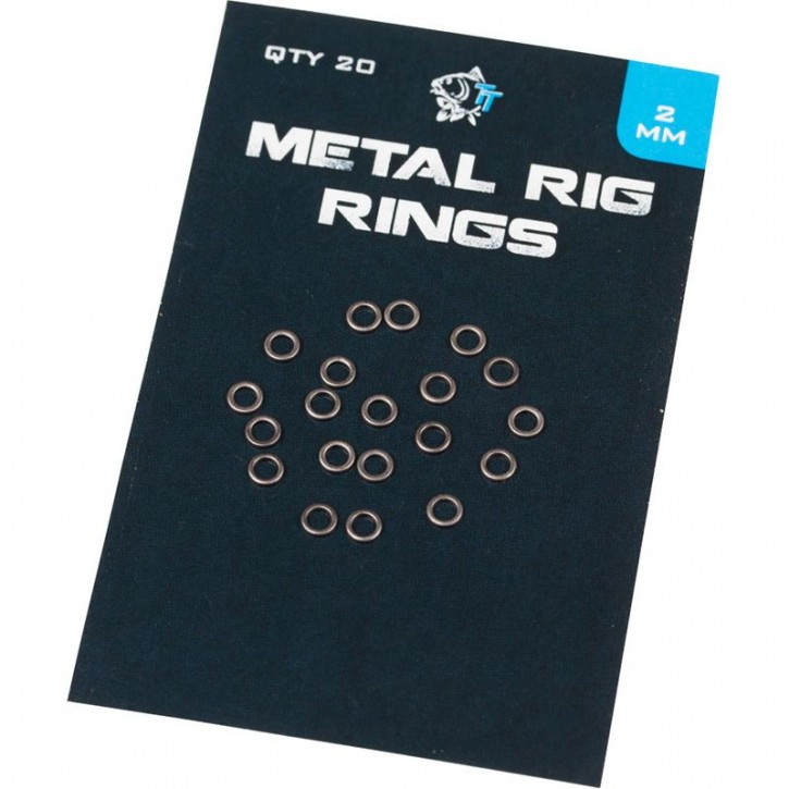 Nash Metal Rig Rings - 2,0 mm