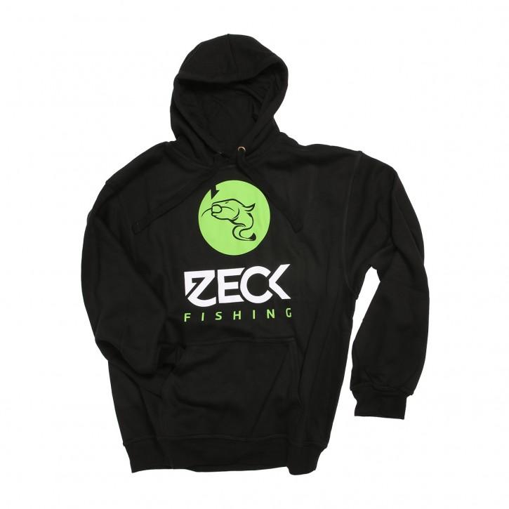 Zeck Hoodie Catfish Black - S
