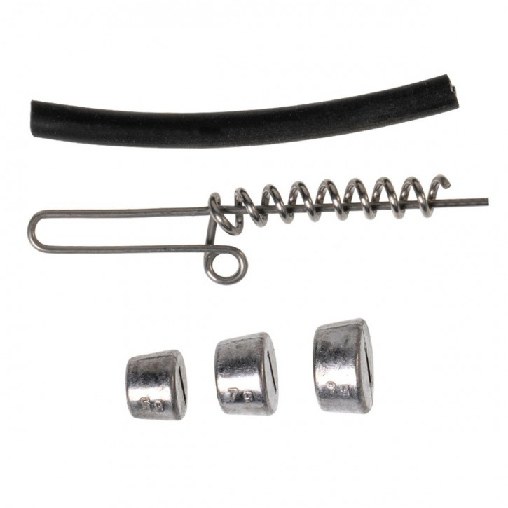 Zeck Raubfisch Softbait Screw Set 5-21g