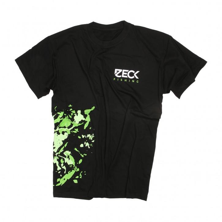 Zeck T-Shirt Green Spotty- XXL